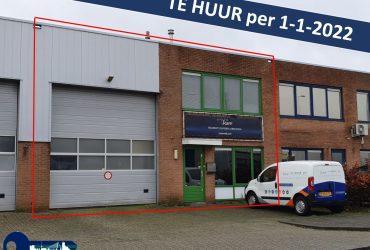 Bedrijfsruimte – Hoogvliet, Suikerbakkerstraat 36.